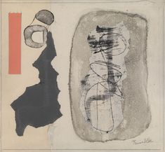 Eileen Gray: The Private Painter,Collaboration with Prunella Clough. Image Courtesy of Osborne Samuel