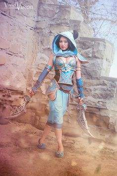 This cosplay by Gladzy puts a spin on the dainty Princess Jasmine and places her in epic battle armor! Princess Jasmine Cosplay, Disney Princess Cosplay, Disney Cosplay, Princess Zelda, Raven Marvel, Cosplay Characters, Disney Pictures, Best Cosplay, Kingdom Hearts