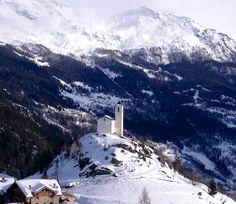Montvalezan, French Alps