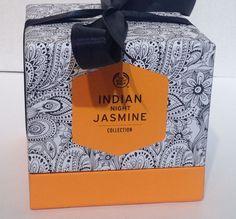 the body shop indian night jasmine perfum #TheBodyShop