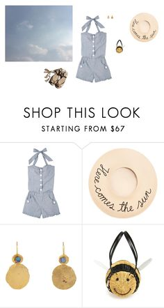 """""""Tropic of Capricorn"""" by panda6980 ❤ liked on Polyvore featuring Eugenia Kim, Garance Doré, Judy Geib and Kate Spade"""