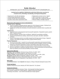 Resume, Good resume examples and Good resume on Pinterest