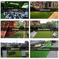 Artificial Grass Indoor Outdoor Area Rug Lawn Mat Party Wedding Decor 52 Sq feet #ModernLiving