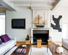 Today we present to you this incredibly charming century dwelling, discovered on Nuevo Estilo, nestled in the heart of a beautiful village on the Isle of Rhé (Île de Ré in french), on the Nantucket, Feng Shui, Chair Design, Furniture Design, French Mansion, Les Hamptons, Seaside Apartment, Interior Styling, Home Decor