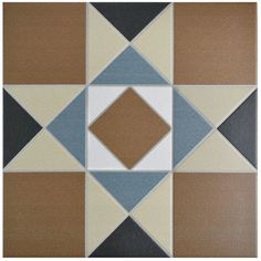 "Narcisso 13"" x 13"" Porcelain Floor and Wall Tile in Cotto"
