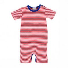 Stadtlandkind - Combi Short Red Stripes