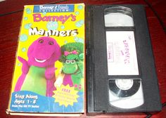 1993 Barney and Friends Collection, Barneys Best Manners Sing Along VHS: Barney and Friends, Best Manners Sing A Long VHS sleeve shows wear, vhs is in VG condition, does not come with Activity Guide Refunds allowed within 15 days of receipt with prior authorization...