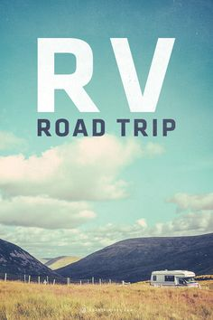 Fill that RV up with gas and hit the road with this RV Road Trip!