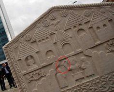 God banner(scepter):symbol of birth and life( stecak)