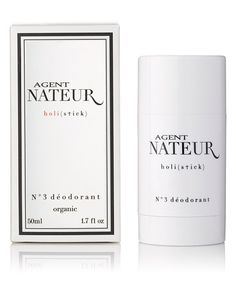 Editor Road Test: Our Favorite Natural Deodorants That Really Work! - Agent Nateur N°3 Deodorant holi(stick)  - from InStyle.com