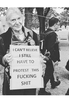 What are you protesting? The non-existent wage gap, or maybe it's the rape culture you think exists.