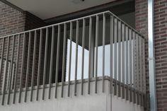balustrade stripstaal hout - Google zoeken