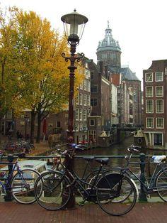 Autumn in Amsterdam, Netherlands