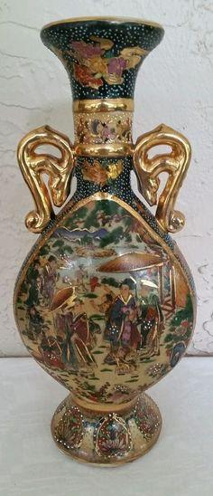 209 Best Moriage Dragonware Nippon Noritake Satsuma Vases