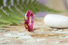 Pink Pion resin ring, Resin jewelry Real flower rings Nature rings Flower resin jewelry Natural jewelry Valentine's gift Bridesmaid gift by vesnastudiooo on Etsy https://www.etsy.com/listing/529735920/pink-pion-resin-ring-resin-jewelry-real