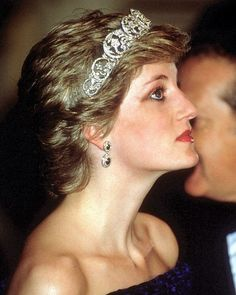 Instagram media by princess.diana.forever - 11 February 1987: Diana, Princess of Wales, attends a state banquet in Lisbon, Portugal ■