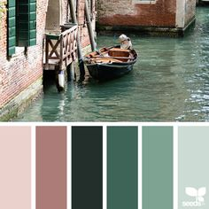 Design Seeds: Color Palettes Inspired by Nature Modern House Plans, Small House Plans, Palette Violette, Kitchen Colour Combination, Nature Color Palette, Design Seeds, Hue Color, The Colour Of Spring, Bedroom Colors