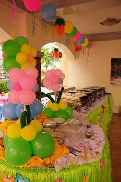 "Photo 12 of 28: Lilo and Stitch Luau Party / Birthday ""Alala Turns 5!"""