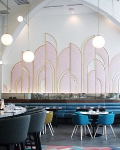 Have a look into these wonderful Restaurant Interiors! #Interiordesign, ##Moderndécor, #Restaurantinteriors