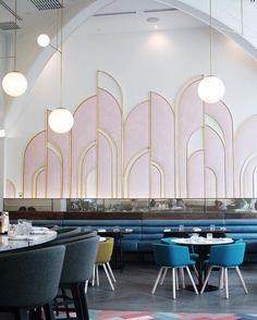 Have a look into these wonderful Restaurant Interiors! #Interiordesign, ##Moderndécor, #Restaurantinteriors