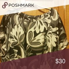 Top Silky beautiful with an elastic waist Apostrophe Tops