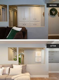 House Seasons, Minimal Bedroom, Guest Bedroom Decor, White Subway Tiles, Bedroom Paint Colors, Wet Rooms, Bed Throws, First Home, Sofa Pillows