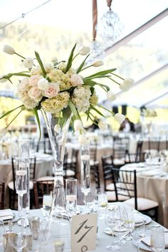 Elegant & Romantic White Wedding