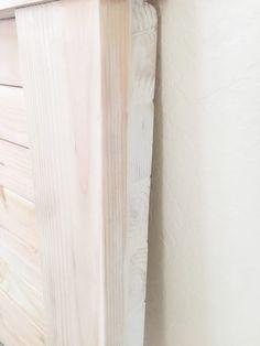 DIY Farmhouse Headboard - Haus of Layne Diy King Size Headboard, Wood Headboard, Headboard Ideas, Panel Headboard, Diy Daybed, Headboards For Beds, Woodworking Jig Plans, Woodworking Magazine, Woodworking Projects