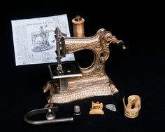 Müller Kindernähmaschine RARE 1900th Toy Sewing Machine Machine A COUDRE | eBay