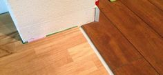 I Love The Transition From The Wood To The Laminate Home