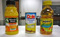 Science Stuff: How much Vitamin C is in your fruit juice?