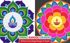 80 Best and Easy Rangoli Designs for Diwali Festival http://webneel.com/rangoli-designs-for-diwali | Design Inspiration http://webneel.com | Follow us www.pinterest.com/webneel