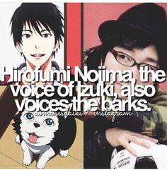 Anime facts KNB seiyuu