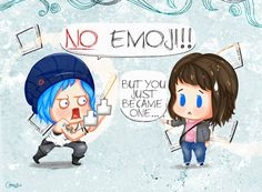 Life Is Strange: NO EMOJI by idyllicisabel on DeviantArt