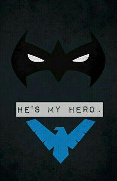 My hero Nightwing