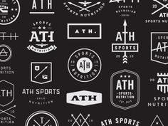Dribbble - ATH Sports Nutrition concepts by Nick Hood