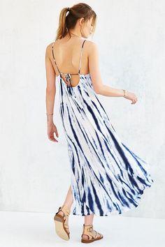 NEUW Montego Tie Dye Maxi Dress