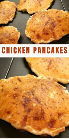 """Now before you jump to conclusions, I am the first to admit that these chicken pancakes might not be as easy as you would expect from a """"No-brainer,"""" but it does have one thing going for it... it is the ultimate comfort food."""