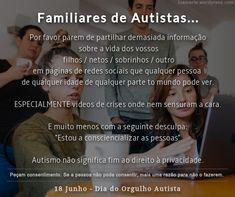 TEA, Espectro do Autismo, Autista, PEA Social Networks, Faces, Favors