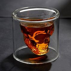 hayabusa TM Crystal Skull Shotglass,crystal Skull Pirate Shot Glass Drink Cocktail Beer Cup 250ml #skulls #skullshotglass more at http://skullclothing.net