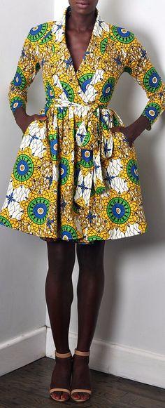 NEW The Gugu Dress. Semi-fitted waist w/ full skirt. Unlined wrap coat dress. Raglan long sleeves. Shawl collar. No closure (belt jacket to close) FABRIC SASH BELT INCLUDED (not pictured). Ankara | Dutch wax | Kente | Kitenge | Dashiki | African print dress | African fashion | African women dresses | African prints | Nigerian style | Ghanaian fashion | Senegal fashion | Kenya fashion | Nigerian fashion | Ankara crop top (affiliate)