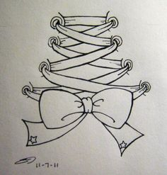corset drawings | Back Corset Tattoo by o0terabyte0o on deviantART