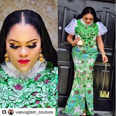 """89 Likes, 2 Comments - Happy Shopping @FABADORE  (@fabadore_fabrics) on Instagram: """"Gorgeous & Talented Designer @veevaglam_couture keeps throwing us off balance with her skills…"""""""