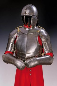 For Auction: A rare cavalry half armour ( on May 2020 Flintlock Pistol, Pauldron, Knight Armor, Arm Armor, Medieval Armor, Fashion Branding, 16th Century, Iron Man, Armour