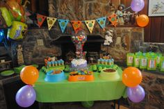 "scooby doo birthday party ideas | Photo 1 of 18: Scooby Doo / Birthday ""Caleb is 4!!"" 