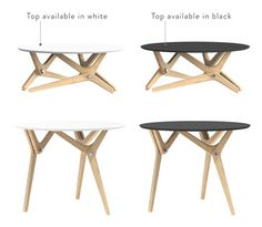 Boulon Blanc transforms from coffee table to dining room table using helicoid mechanisms - CoffeePins Camper Furniture, Folding Furniture, Table Furniture, Cool Furniture, Furniture Design, Plywood Furniture, Chair Design, Modern Furniture, Convertible Coffee Table