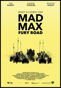 Mad Max - Fury Road Poster Made by Daniel Gustavsson - Swese