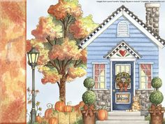 Village Square in Autumn PC Crafter