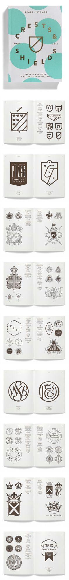 Modern Heraldry - Counter Print