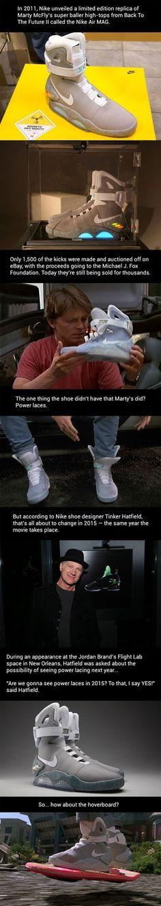 Back To The Future Power Laces For 2015